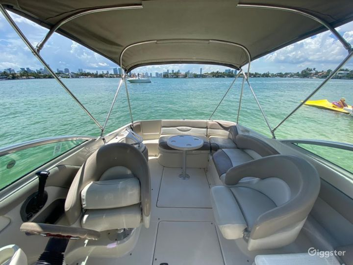 Comfy 26FT Sea Ray Marine Stadium Party Boat Space Events