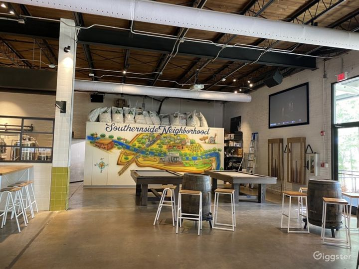 Modern and Unique Brewery in Greenville Photo 5