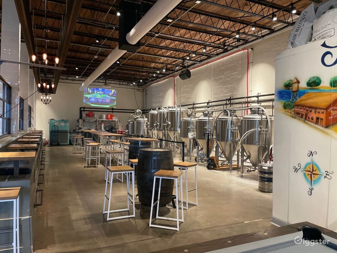 Modern and Unique Brewery in Greenville Photo 1