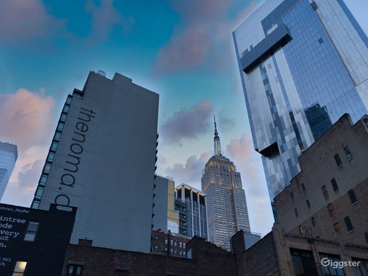 Rooftop Terrace w Background of Empire State Bldg! Photo 4