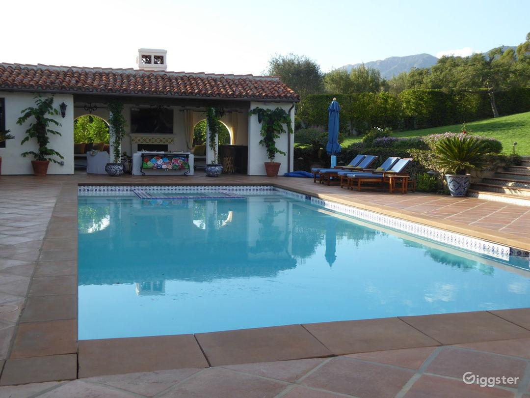 Montecito Delightful Spanish Photo 4