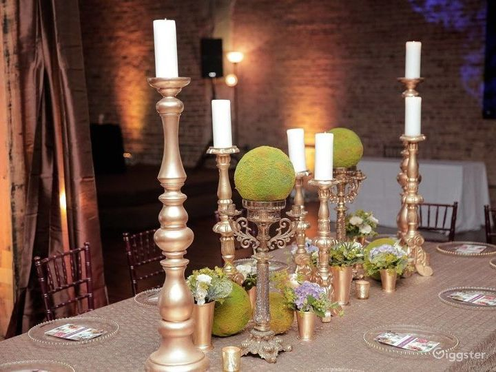 A Classic Blend of Industrial, Vintage Event Space Photo 3