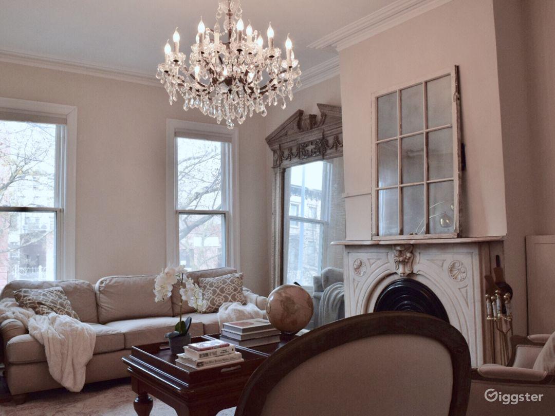 Parlor floor formal living room