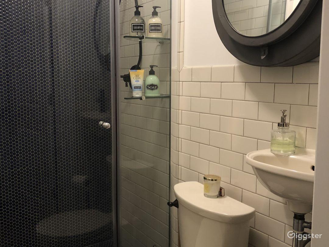 Garden floor bathroom