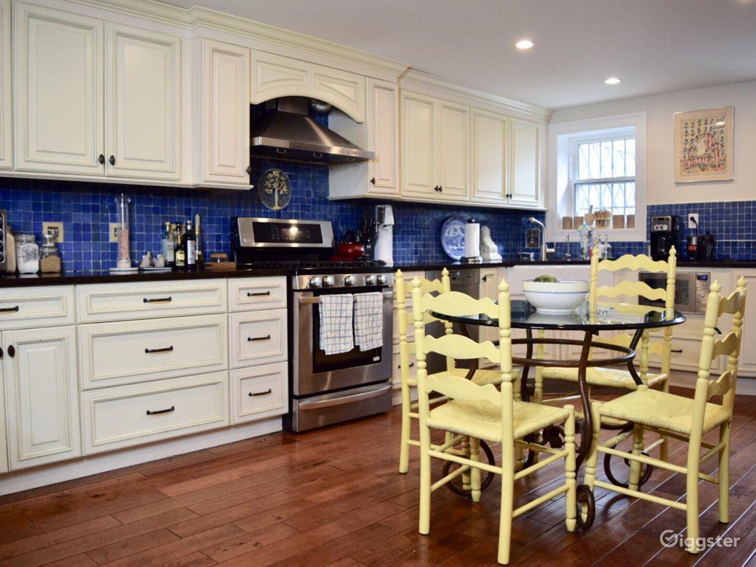 Garden floor kitchen