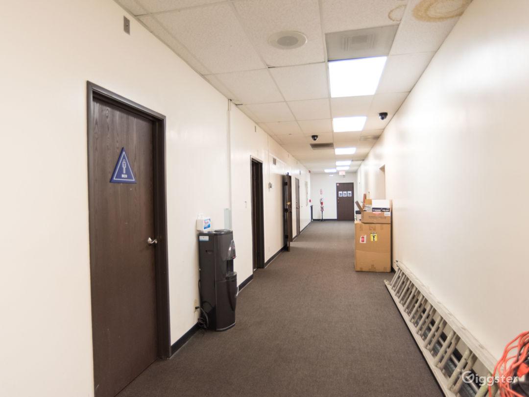 4 very long hallways