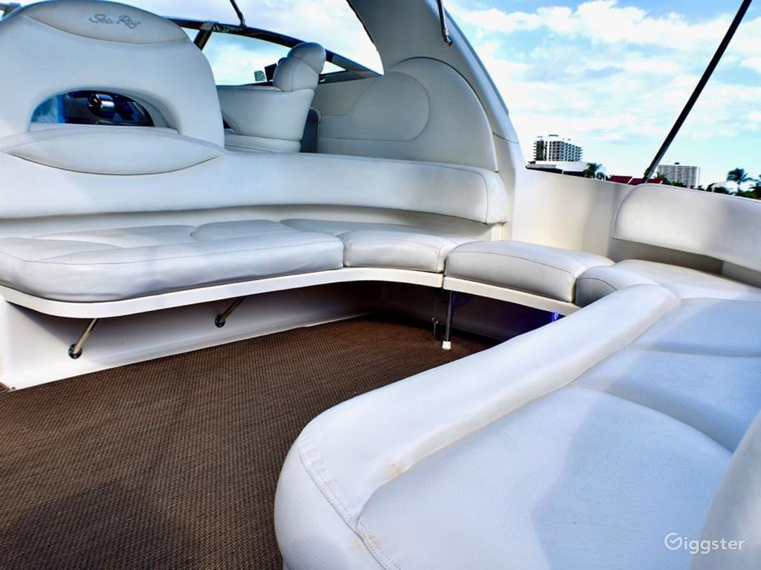 Elegant 40FT Sea Ray Duffy's Party Yacht Space Events Photo 1
