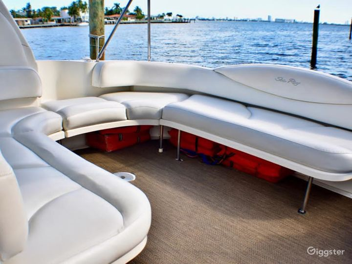 Elegant 40FT Sea Ray Duffy's Party Yacht Space Events Photo 5