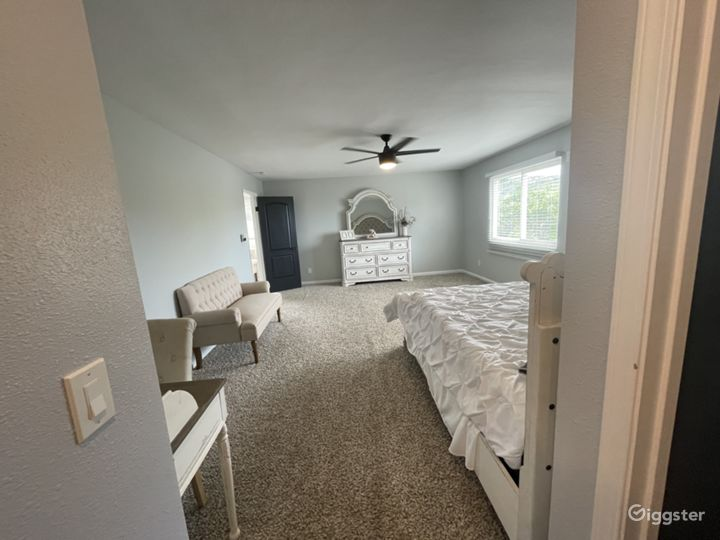 Master suite upstairs