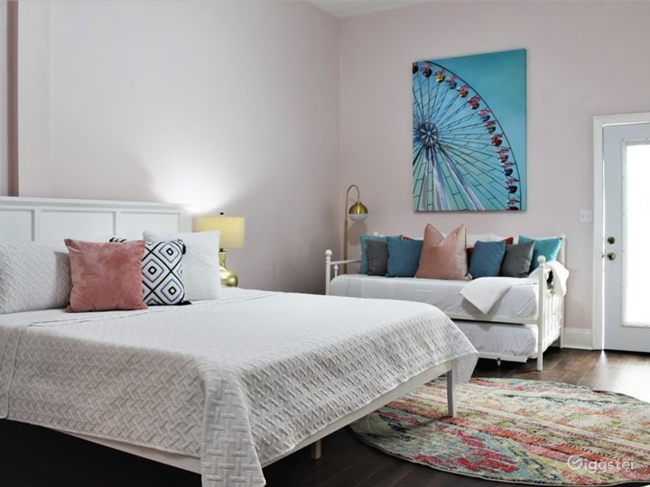 Iconic Pink Victorian Rowhouse Photo 5