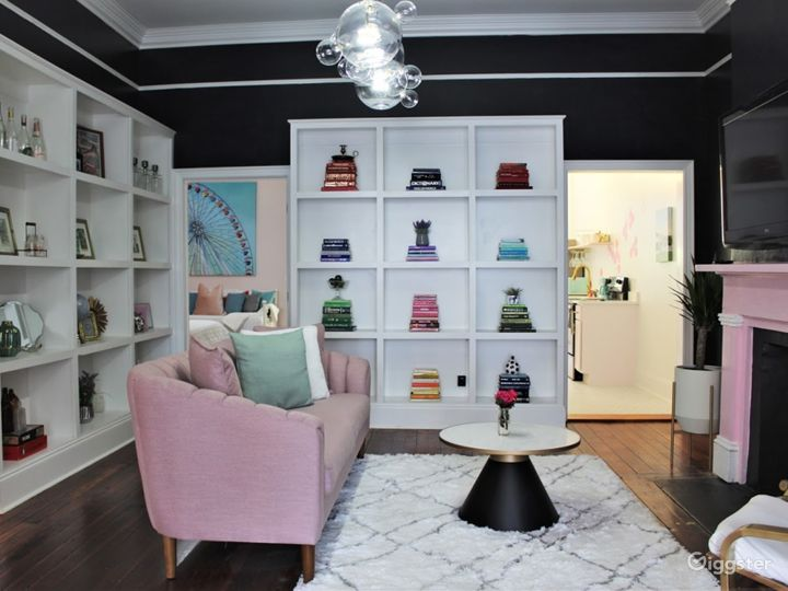Iconic Pink Victorian Rowhouse Photo 3