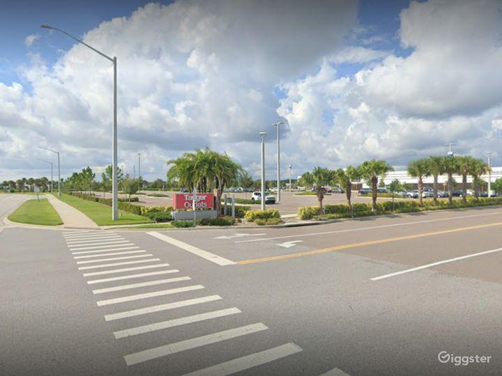 A Huge Parking Space in Daytona Beach