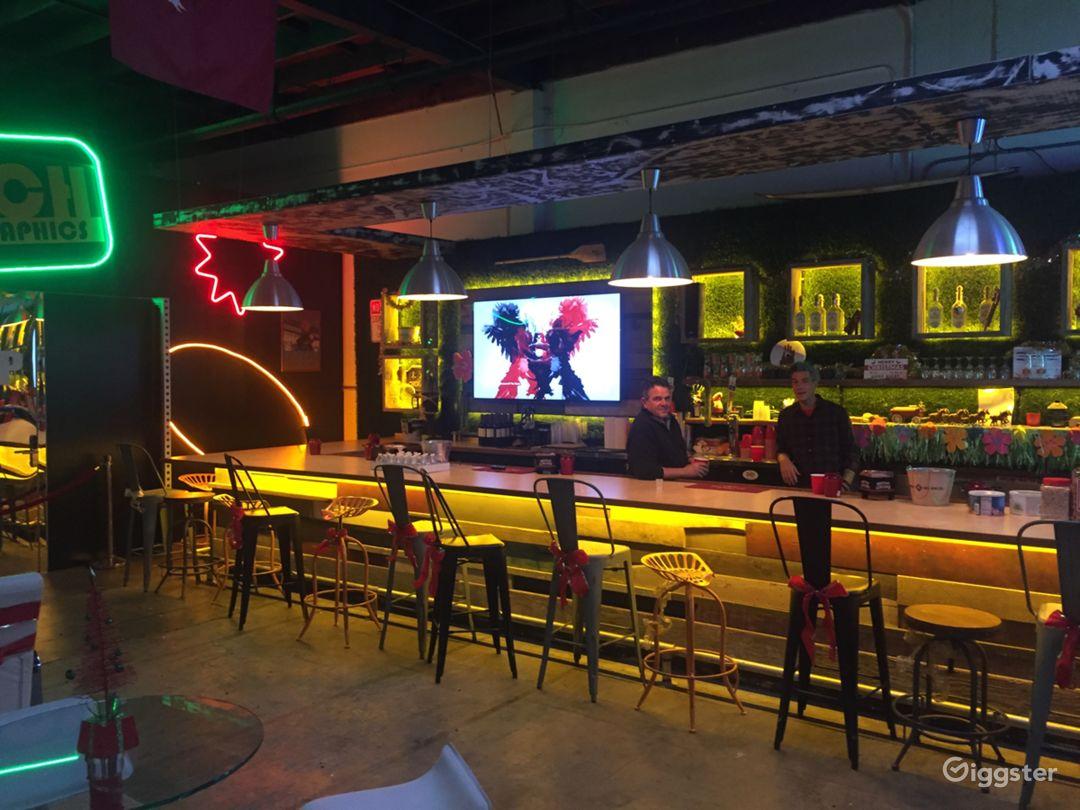 Festive Bar Space