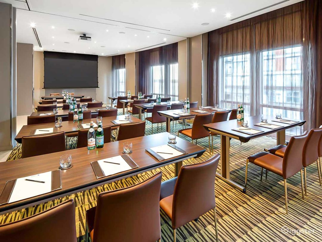 Merge Private Room 1 & 2 for up to 100 guests in Canary Wharf London Photo 1
