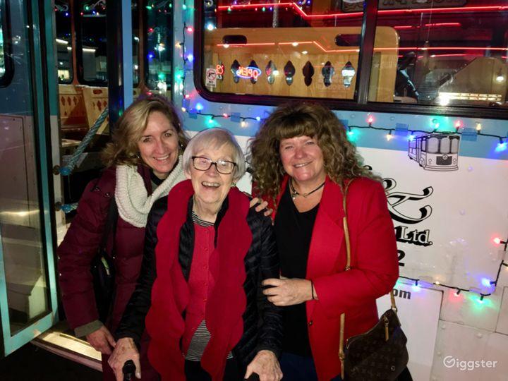 Holiday Light Trolley FUN!