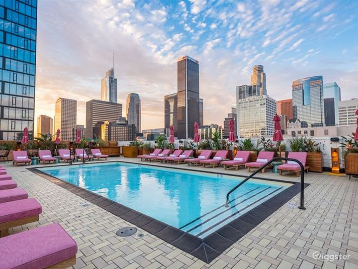 Hotel Rooftop Pool and Lounge Photo 5