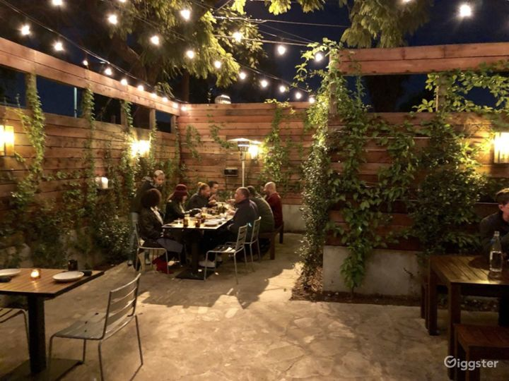 Back Patio Covered with Vines in LA - Outdoor Patio Photo 2