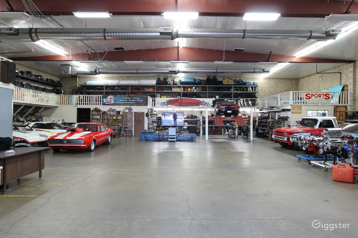 Rent Muscle Car Garage Retail Small Business Warehouse Commercial