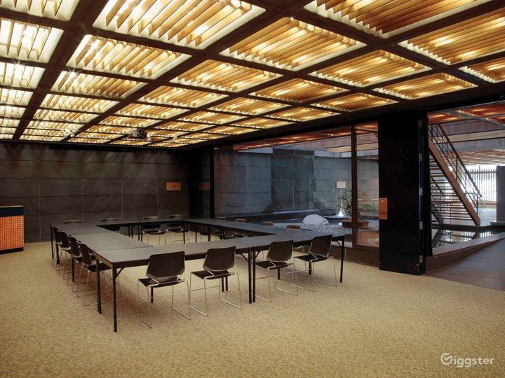Multi-purpose meeting/reception space