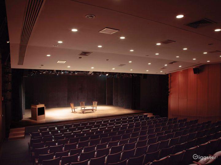 260-seat auditorium