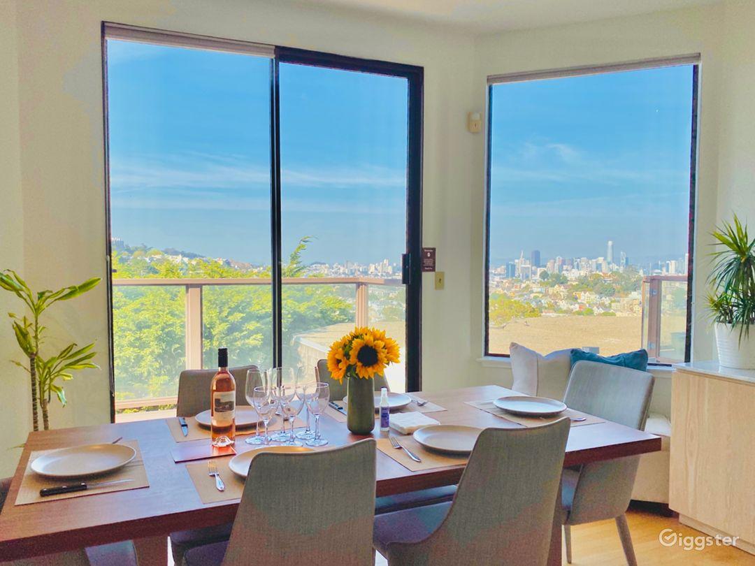 Modern Designer Condo with Skyline View (in Noe) Photo 2