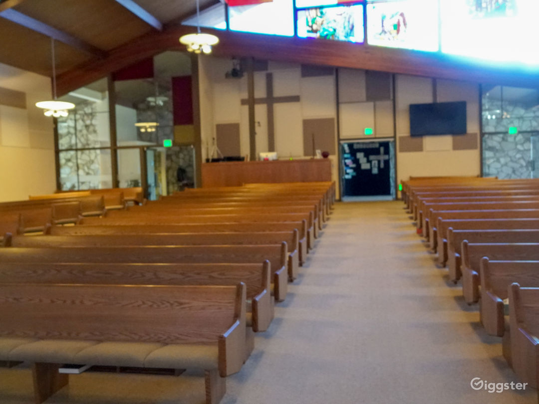 Beautiful Modern Church available for Filming Photo 3