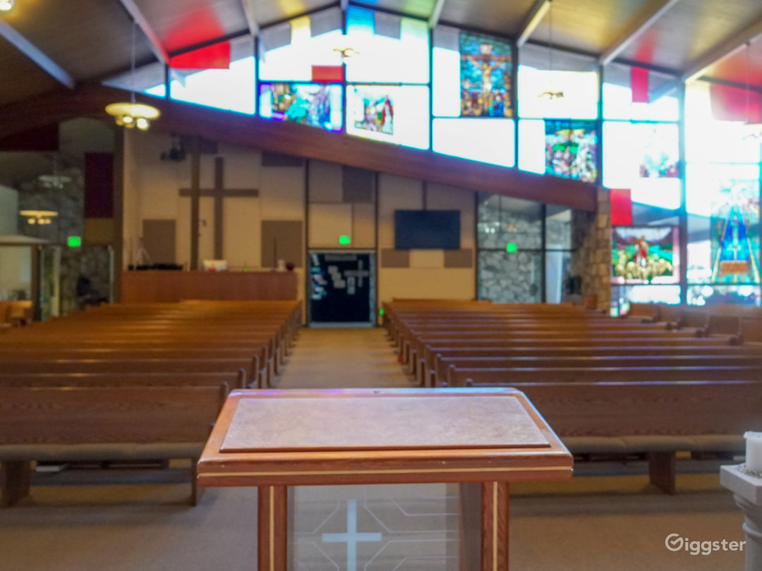 Beautiful Modern Church available for Filming Photo 2