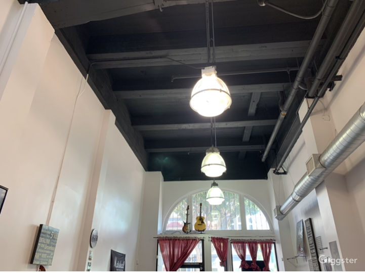 Uptown Store Front 25 Foot Ceilings - Music Shoot in Whittier Photo 3