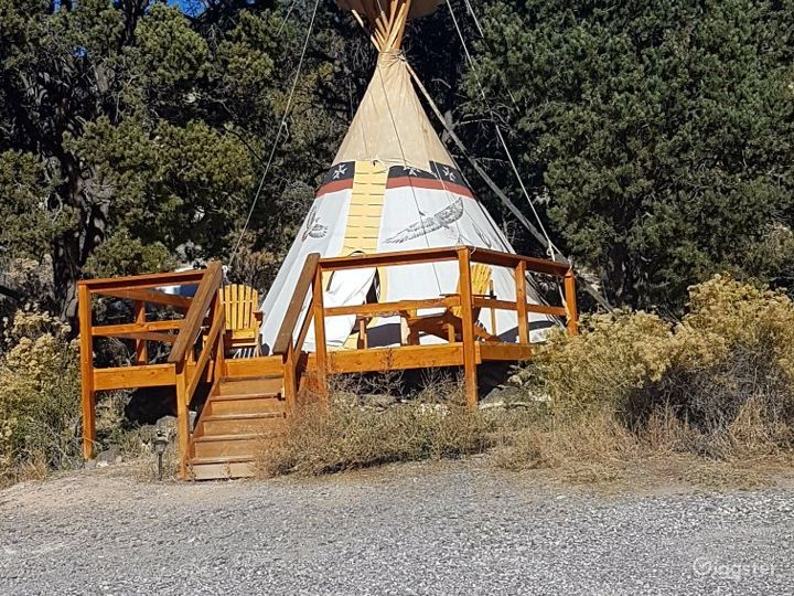A Light and Airy Tipi 3 Glamping Experience Photo 5