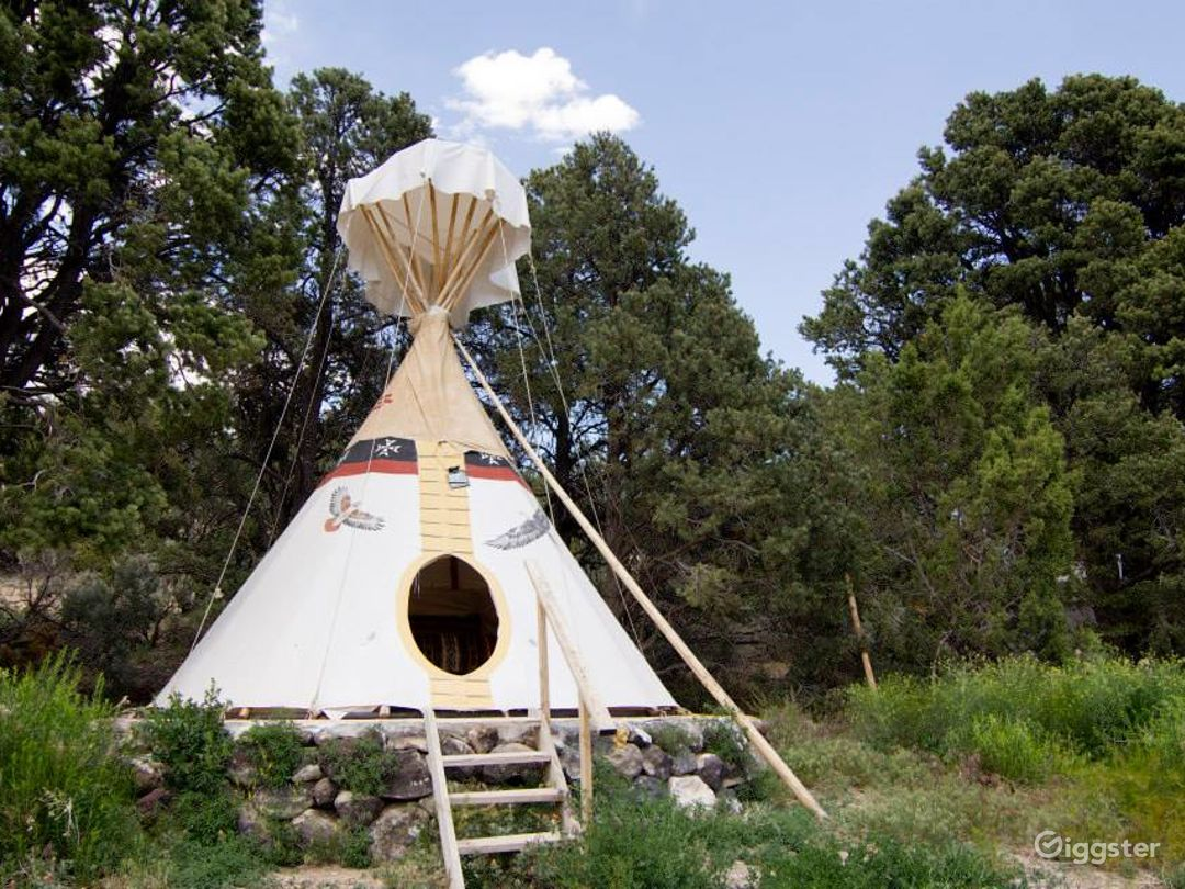 A Light and Airy Tipi 3 Glamping Experience Photo 1
