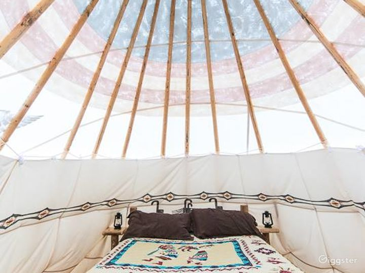 A Light and Airy Tipi 3 Glamping Experience Photo 2