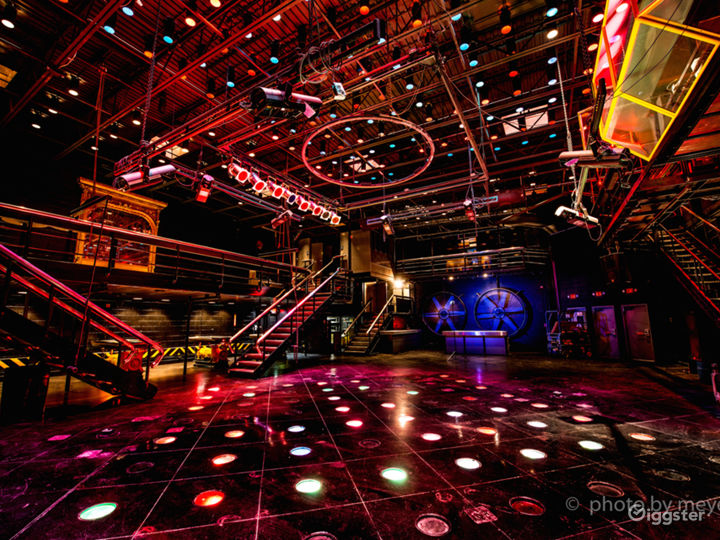 Downtown Event Venue With Industrial Theme