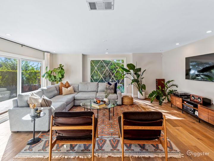 Open living room area.