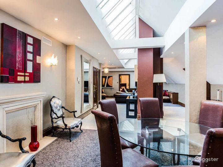 Lalique Penthouse Suite in London Photo 5
