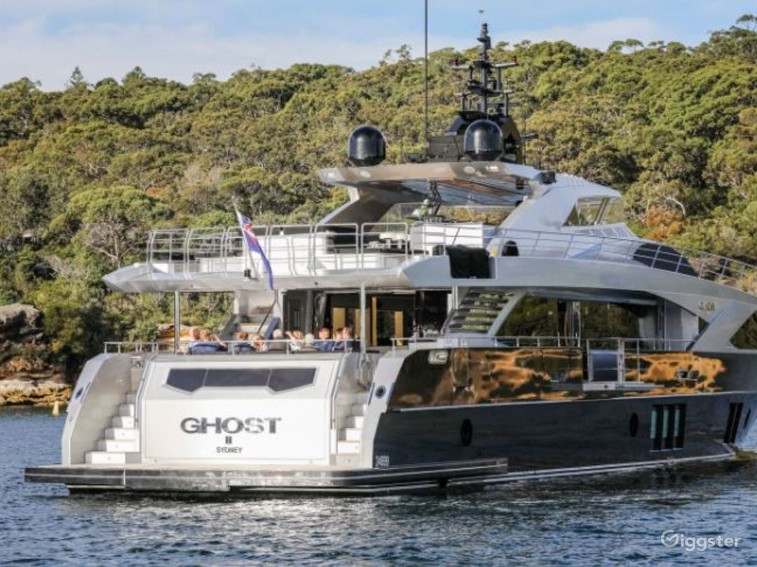 Majestic 122ft GHOST II Yacht for Events Photo 1