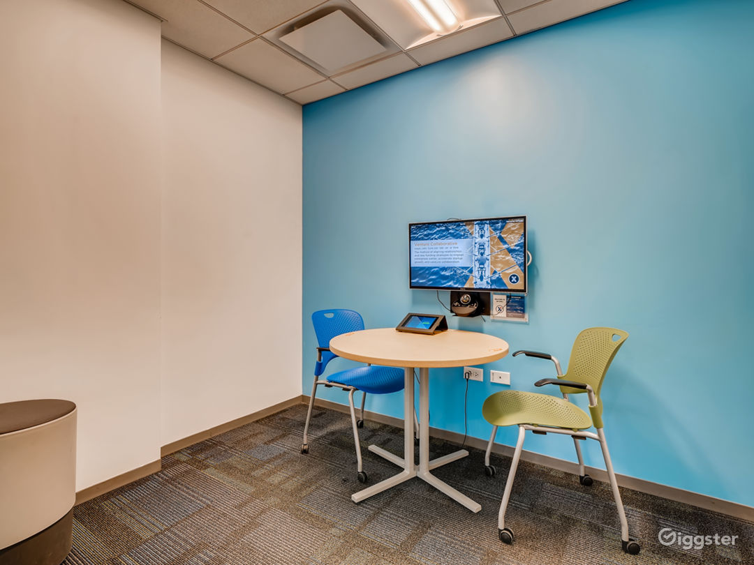 Zoom Equipped Productive Huddle Room Photo 1