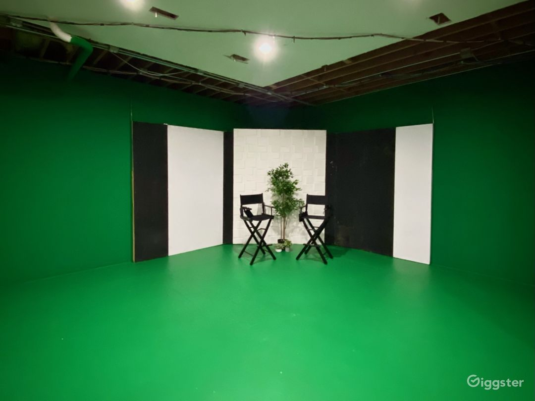 Studio City Production Space with Green Screen Photo 1