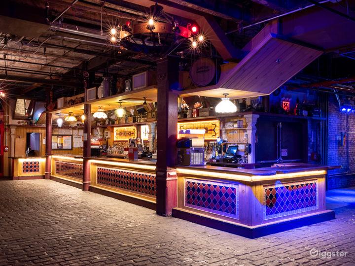Large Industrial Bar + Club Photo 2