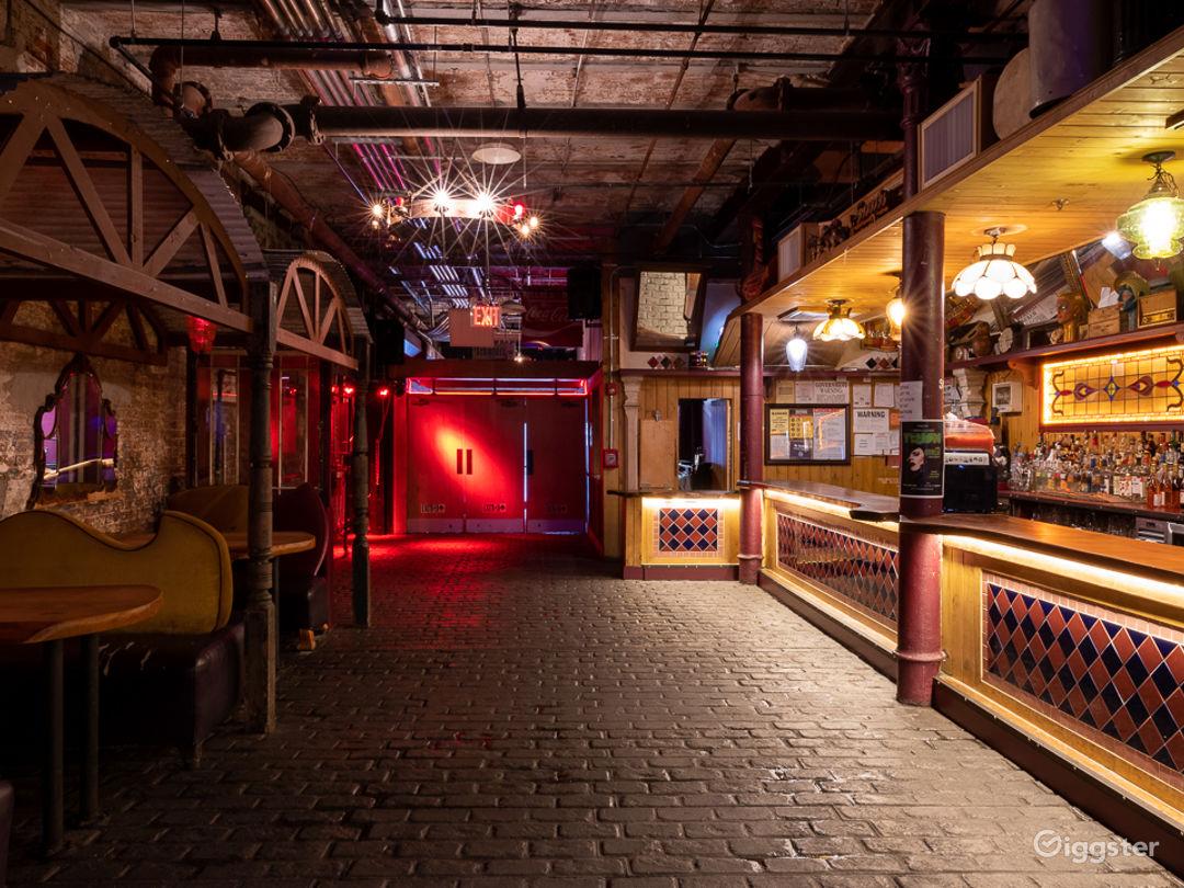 Large Industrial Bar + Club Photo 1