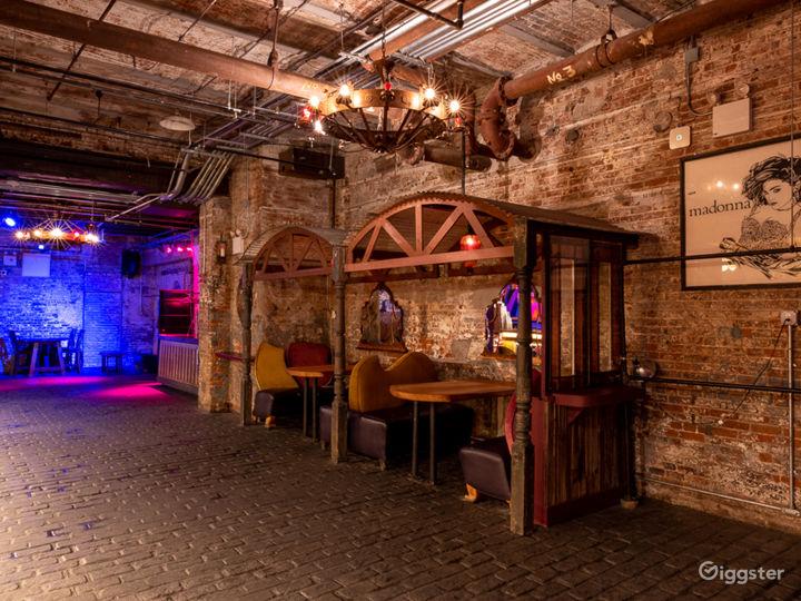 Large Industrial Bar + Club Photo 4