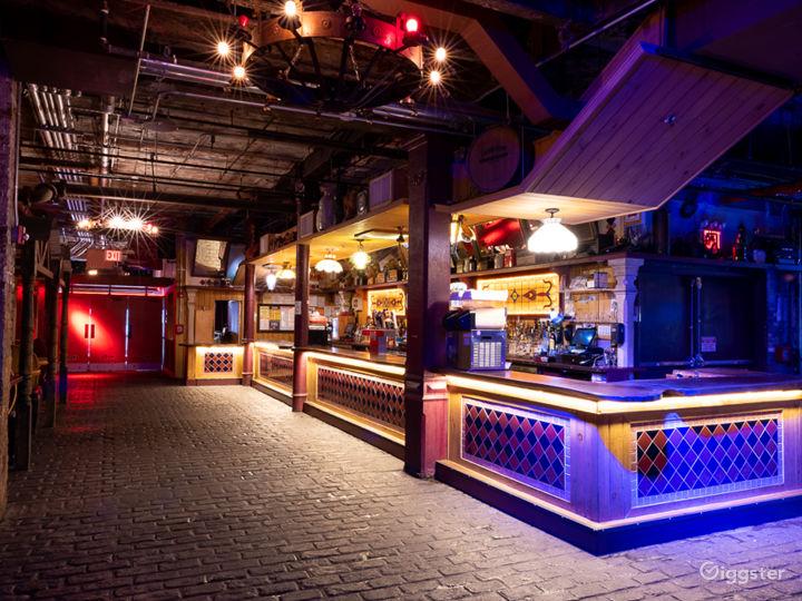 Large Industrial Bar + Club Photo 5