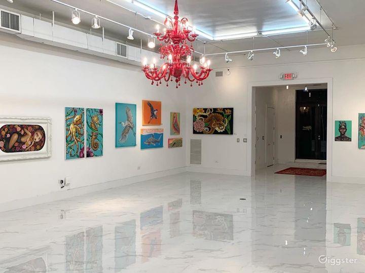 Spacious Art Gallery in Miami, Florida Photo 3