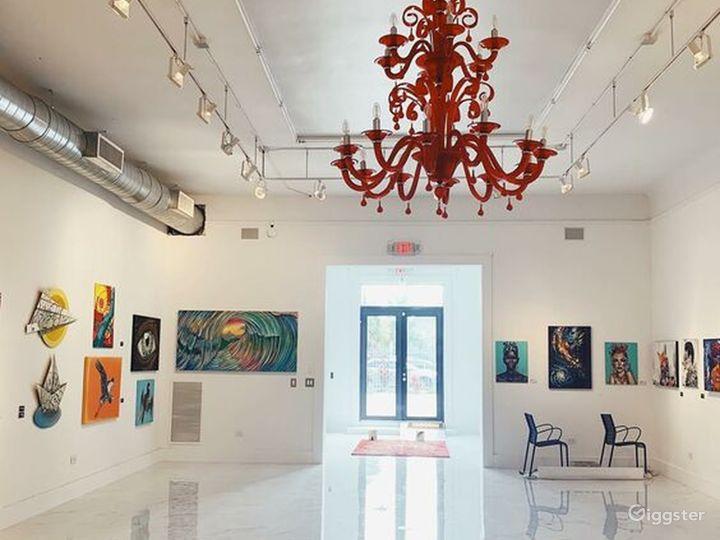 Spacious Art Gallery in Miami, Florida Photo 5