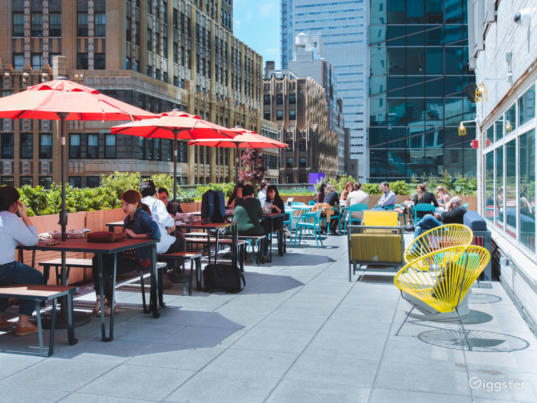 NYC Rooftop Deck w/ Stunning Wrap-Around Rooftop Photo 1