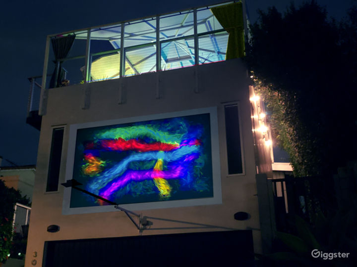 Night Lighting and Projections