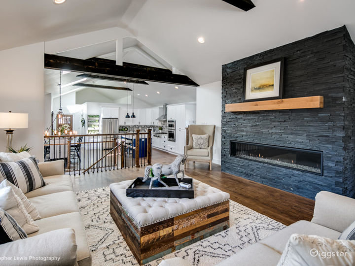 Old meets new modern Farmhouse ranch.One of a kind
