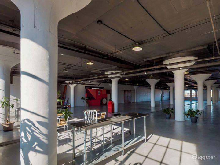 8500 industrial loft style venue. Great location! Photo 3