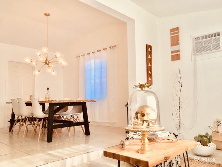 White Cactus House - Modern, Desert Boho Luxe