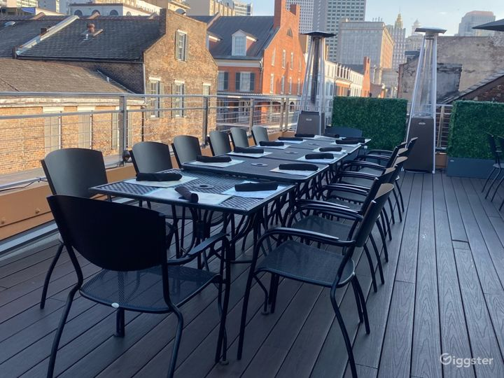 Rooftop Bar with Authentic Cuisine Photo 3