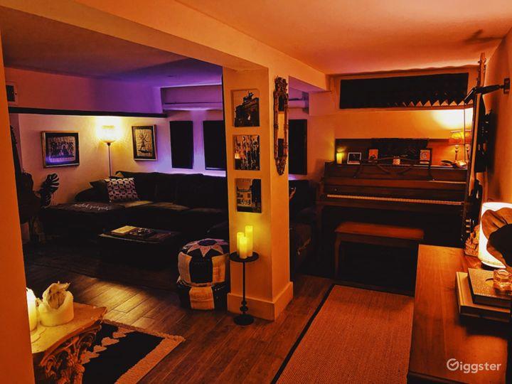 Bedstuy Brownstone w/ Recording Studio, Backyard Photo 3